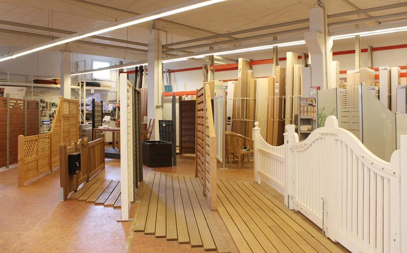450 qm große Indoor-Gartenausstellung