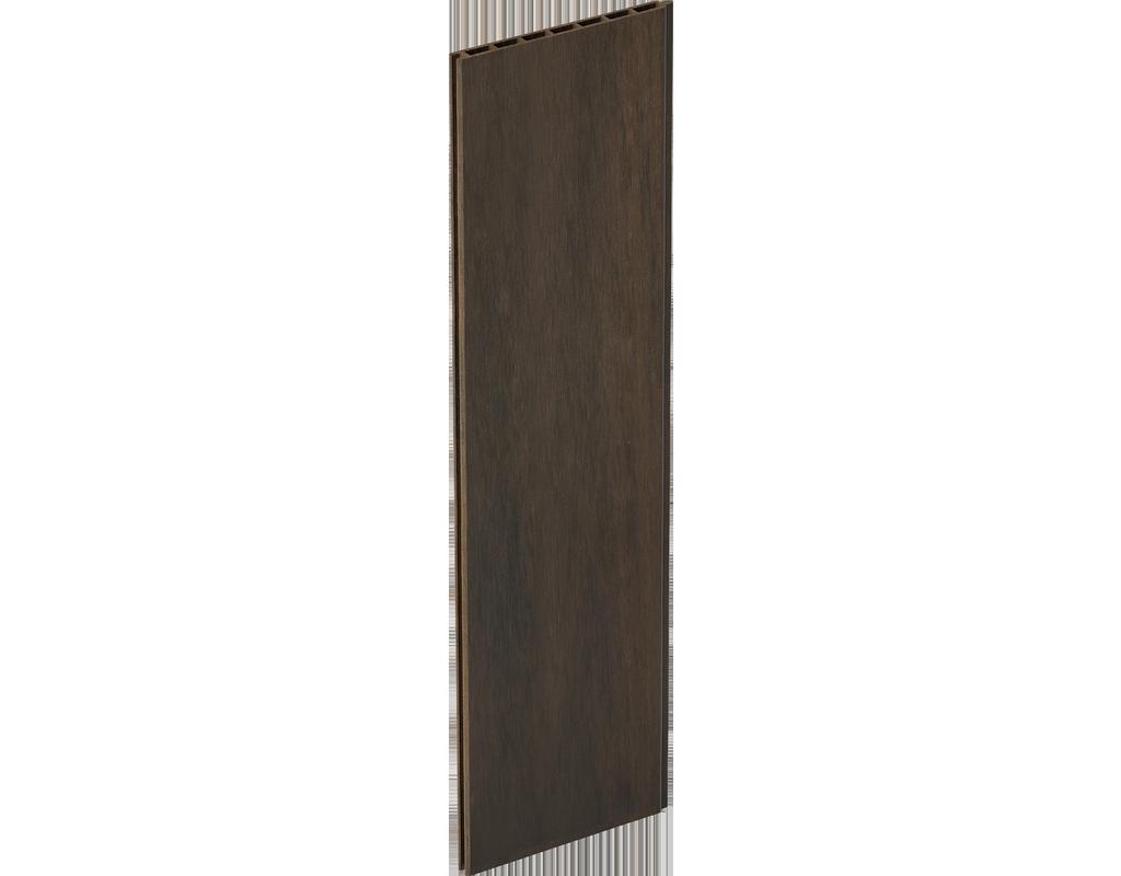 GroJa Solid Stecksystem Grande, Einzelprofil Farbe: Walnuss co-extrudiert,