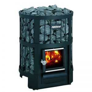 WOLFF FINNHAUS Ofen Holzbeheizt: Saunafass Legend 240