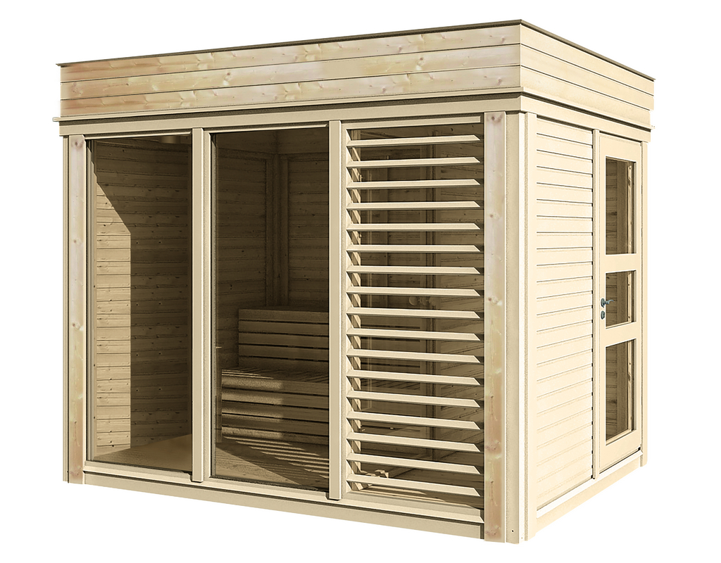 WOLFF FINNHAUS Sauna Paradiso 3x2 (1-Raum) 328,6 x