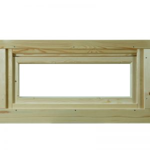 WOLFF FINNHAUS Kipp-Fenster 28 Klarglas