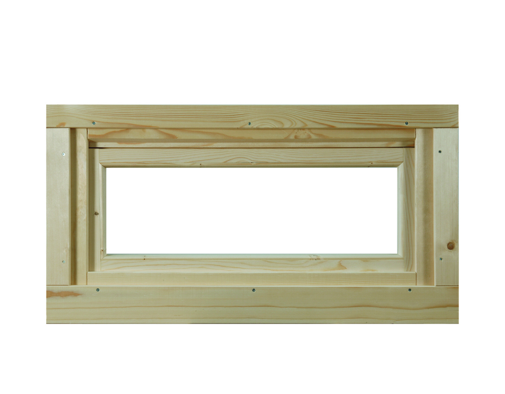 WOLFF FINNHAUS Kipp-Fenster 40 Klarglas
