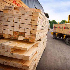 Bauen mit Holz und Baustoffe