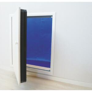 Wellhöfer Kniestocktüre mit WärmeSchutz 4D