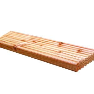 Scheerer Terrassen-Bohle 2,8x14,5cm 4,00m Douglasie NUT: Ober-/ Unterseite