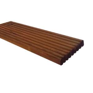 Scheerer Terrassen-Bohle 2,8x14,5cm DouglasieKD+ 4,00m NUT: Ober-/ Unterseite Nutrofil,