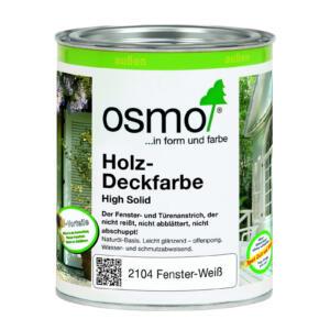OSMO Holz-Deckfarbe 2104 Weiß, 0,75L