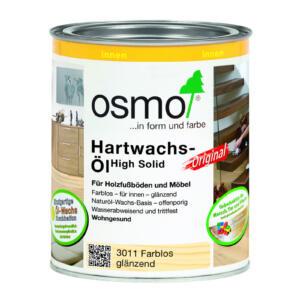 OSMO Hartwachs-Öl Original 3011 Farblos glänzend 0,75L