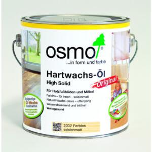 OSMO Hartwachs-Öl Original 3032 Farblos, seidenmatt, 2,5L