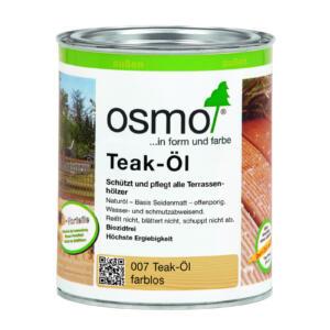 OSMO Teak-Öl 007 Farblos, 0,75L
