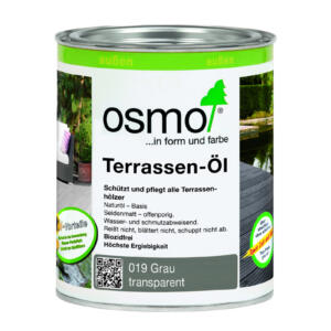 OSMO Terrassen-Öl 019 grau, 0,75L