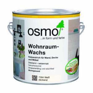 OSMO Wohnraum-Wachs 7394 Weiß deckend 0,75L