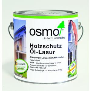 OSMO Holzschutz Öl-Lasur 900 Weiß, 2,5L