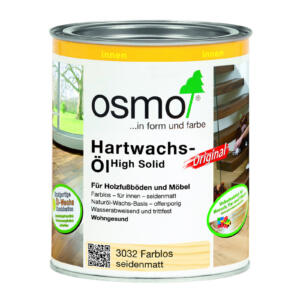 OSMO Hartwachs-Öl Original 3032 Farblos, seidenmatt, 0,75L