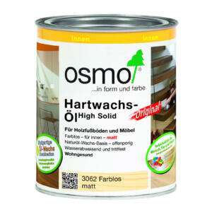 OSMO Hartwachs-Öl Original 3062 Farblos, matt, 0,75L