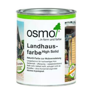 OSMO Landhausfarbe 2704 Steingrau, 0,75L