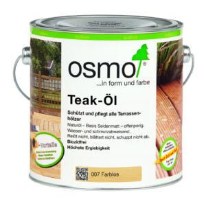 OSMO Teak-Öl 007 Farblos, 2,5L