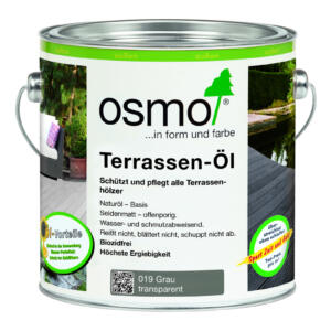 OSMO Terrassen-Öl 019 grau, 2,5L